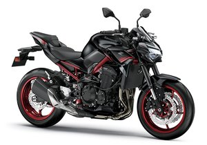 Picture of New 2021 Kawasaki Z900 ABS *Black / Red* For Sale