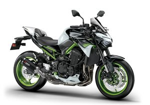 Picture of New 2021 Kawasaki Z900 ABS Performance**White / Green** For Sale