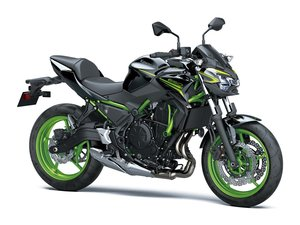 Picture of New 2021 Kawasaki Z650 ABS**Black / Green** For Sale
