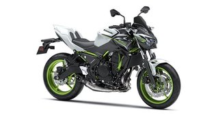 New 2021 Kawasaki Z650 ABS Performance**White / Green**