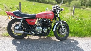 Picture of 1973 UK  Z1 900 SUPER FOUR and 0thers.