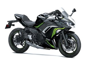 Picture of New 2021 Kawasaki Ninja 650 ABS **Grey** For Sale