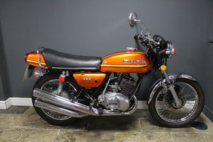 Picture of 1973  Kawasaki S2 350 cc Triple , Frame number S2T14644 ,