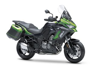 Picture of New 2021 Kawasaki Versys 1000 S Tourer **Green** For Sale
