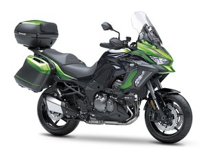 Picture of New 2021 Kawasaki Versys 1000 SE Grand Tourer **Green** For Sale