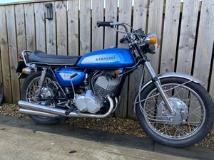 Picture of 1972 KAWASAKI H1 500 TRIPLE MINT BIKE RUNS MINT! £11500 OFFERS PX For Sale