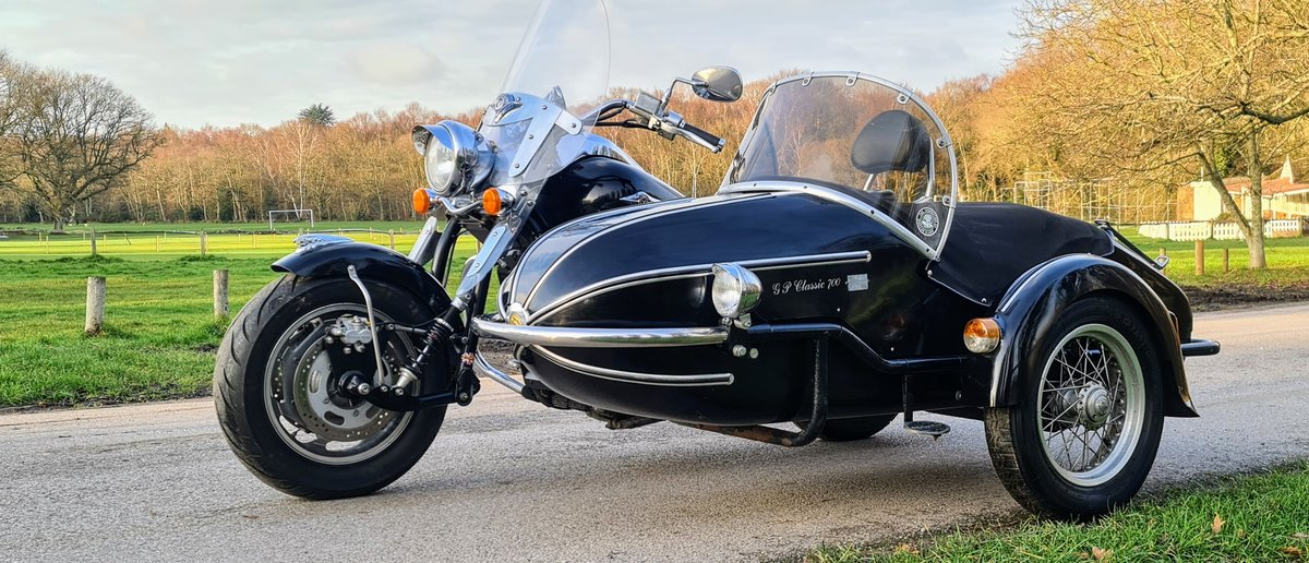 2007 Kawasaki VN1600 Sidecar Outfit For Sale (picture 1 of 12)