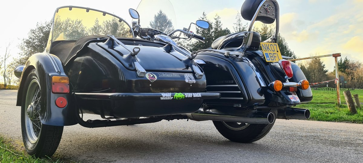 2007 Kawasaki VN1600 Sidecar Outfit For Sale (picture 3 of 12)