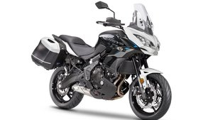 Picture of 8299 New 2021 Kawasaki Versys 650 ABS Tourer**White** For Sale
