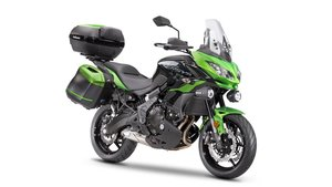 Picture of New 2021 Kawasaki Versys 650 ABS Grand Tourer **Green** For Sale
