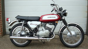 Picture of Kawasaki A1A Samurai 250 1970-J **SHOW STANDARD,RESTORED** For Sale