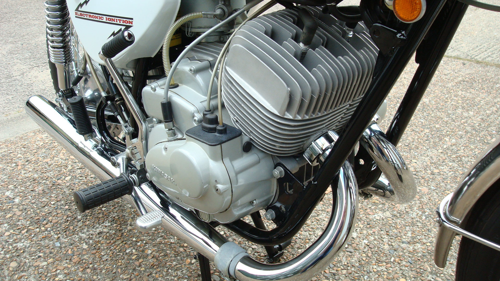 Kawasaki A1A Samurai 250 1970-J **SHOW STANDARD,RESTORED** For Sale (picture 4 of 10)