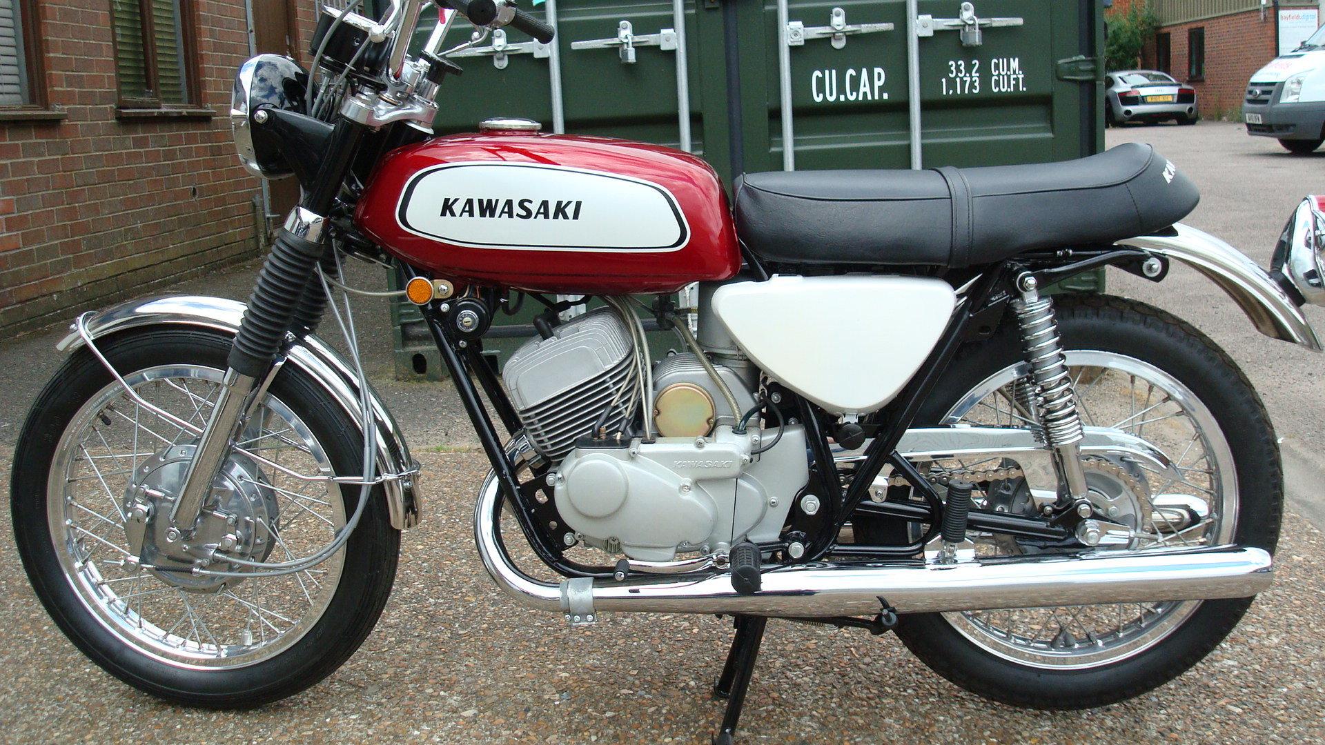 Kawasaki A1A Samurai 250 1970-J **SHOW STANDARD,RESTORED** For Sale (picture 10 of 10)