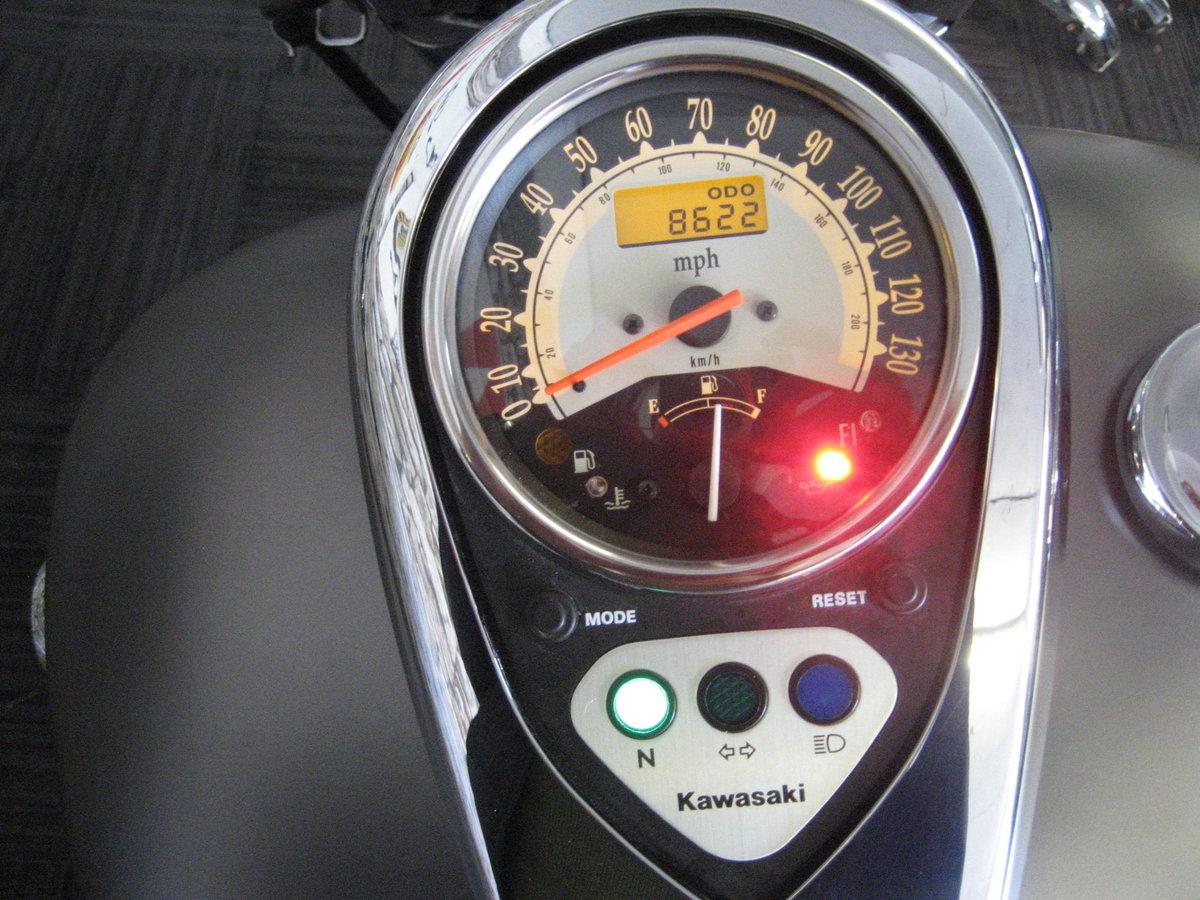 2009 09-reg Kawasaki VN900 B9F Classic cruiser For Sale (picture 7 of 12)