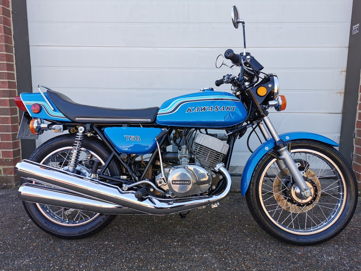 1972-K Kawasaki H2 750 Triple For Sale (picture 1 of 9)