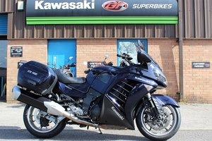 Picture of 2010 10 Kawasaki ZG 1400GTR ABS **Blue** Sports Tourer** For Sale