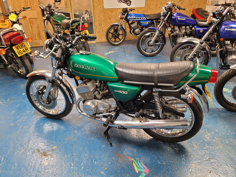1980 KAWASAKI KH400 For Sale (picture 3 of 12)
