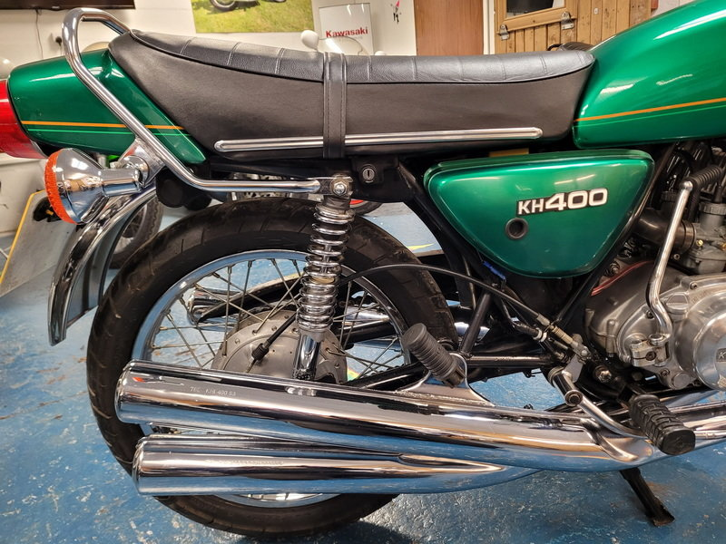 1980 KAWASAKI KH400 For Sale (picture 6 of 12)