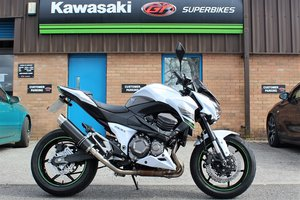 Picture of 2015 15 Kawasaki Z800 **White** Just 5,800 Miles** For Sale