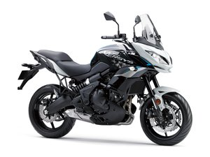 Picture of New 2021 Kawasaki KLE 650 Versys **White** For Sale