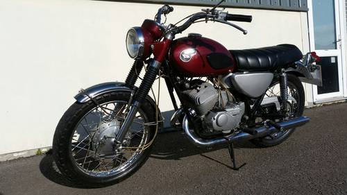 KAWASAKI SAMURAI A1 1968 250CC 2 STROKE CLASSIC MOTORCYCLE SOLD (picture 1 of 6)