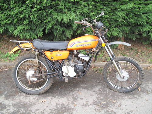 1972 KAWASAKI F6 F 6 125 Trail Bike US Import Barn Find Classic T