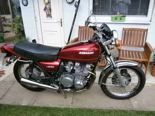 1977 kawasaki z650 b1 SOLD | Car And Classic