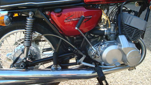 Kawasaki H1 500 TRIPLE 1970-H  (20,903 Miles) For Sale (picture 4 of 6)