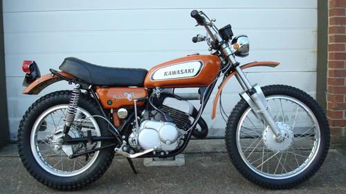 Kawasaki F5 BIGHORN 1970-H **1781 MILES,UN-RESTORED** SOLD (picture 1 of 6)