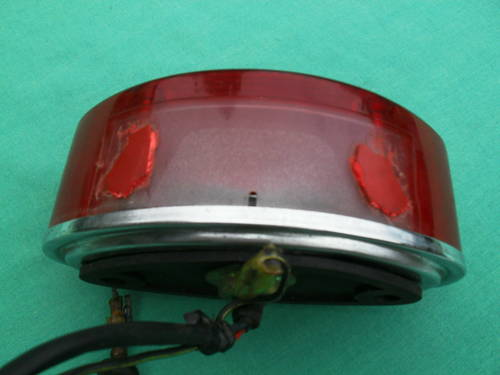 1972 Origional Kawasaki rear light from H1B 500 For Sale (picture 3 of 6)