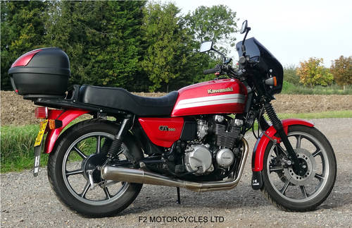 1993 Kawasaki GT550 ready to ride, very good condition. SOLD (picture 1 of 6)