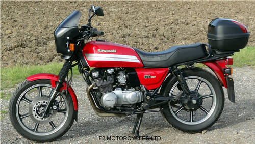 1993 Kawasaki GT550 ready to ride, very good condition. SOLD (picture 5 of 6)