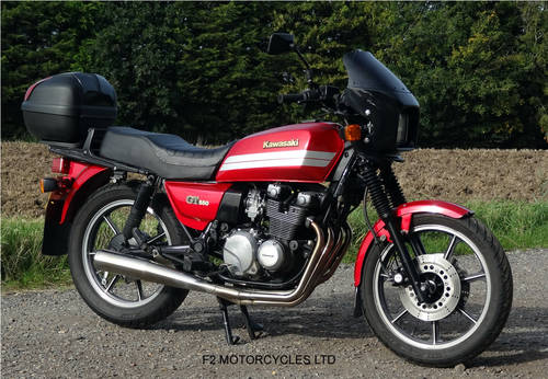 1993 Kawasaki GT550 ready to ride, very good condition. SOLD (picture 6 of 6)