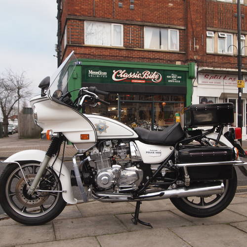 1984 Kawasaki Kz1000 P Police Bike Reserved For Pm Sold Car And