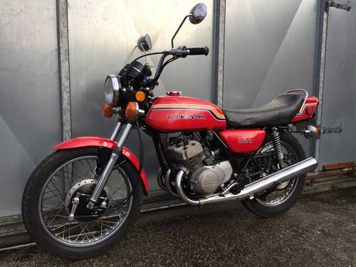 1972 KAWASAKI S2 350 TRIPLE STAGGERING ORIGINAL BIKE WITH V5 For
