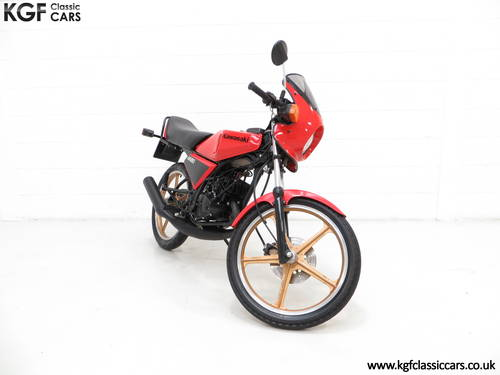 1981 A Fully Restored Racy Eighty UK Kawasaki AR80-A1 SOLD (picture 1 of 6)