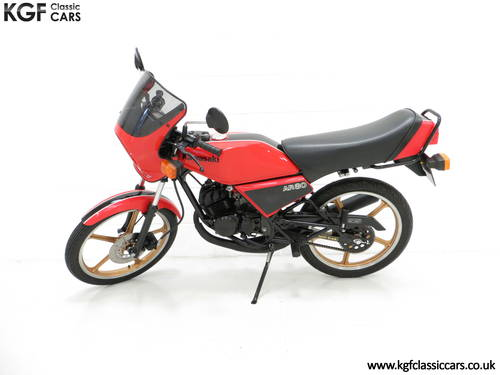 1981 A Fully Restored Racy Eighty UK Kawasaki AR80-A1 SOLD (picture 3 of 6)