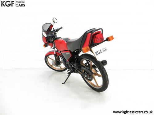 1981 A Fully Restored Racy Eighty UK Kawasaki AR80-A1 SOLD (picture 4 of 6)