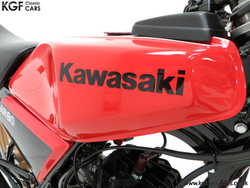 1981 A Fully Restored Racy Eighty UK Kawasaki AR80-A1 SOLD (picture 6 of 6)