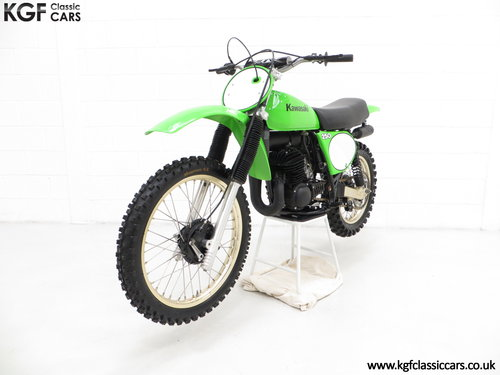 One of 1500, a 1978 Kawasaki KX250-A4 SOLD (picture 2 of 6)