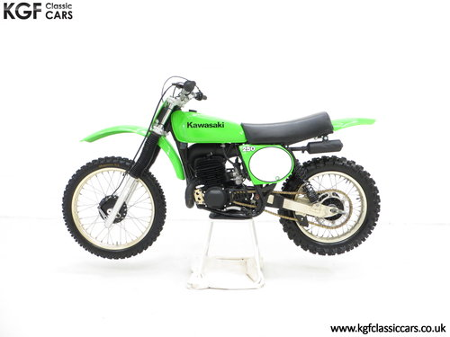 One of 1500, a 1978 Kawasaki KX250-A4 SOLD (picture 3 of 6)