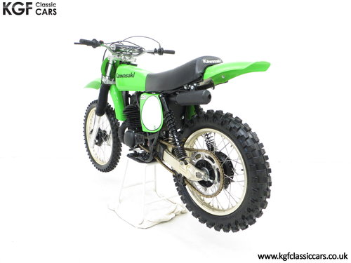 One of 1500, a 1978 Kawasaki KX250-A4 SOLD (picture 4 of 6)