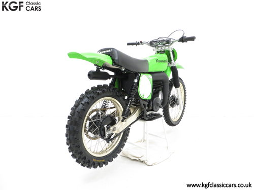 One of 1500, a 1978 Kawasaki KX250-A4 SOLD (picture 5 of 6)