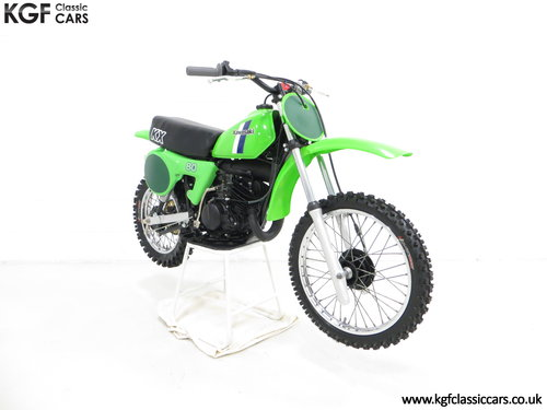 'The Junior Champions Choice' 1980 Kawasaki KX80-B2 SOLD (picture 1 of 6)