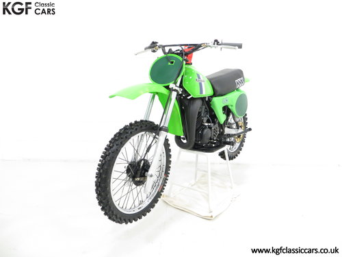 'The Junior Champions Choice' 1980 Kawasaki KX80-B2 SOLD (picture 2 of 6)