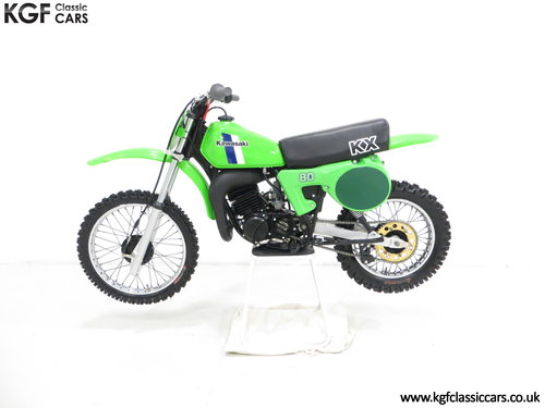 'The Junior Champions Choice' 1980 Kawasaki KX80-B2 SOLD (picture 3 of 6)