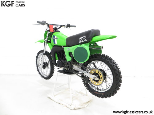 'The Junior Champions Choice' 1980 Kawasaki KX80-B2 SOLD (picture 4 of 6)