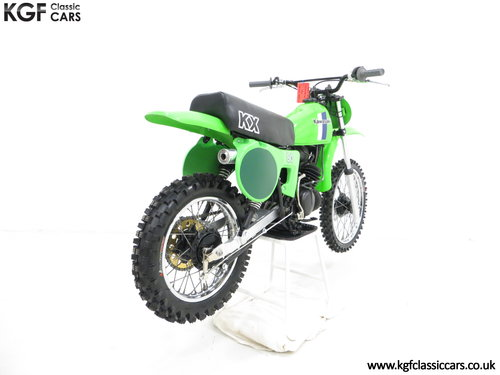 'The Junior Champions Choice' 1980 Kawasaki KX80-B2 SOLD (picture 5 of 6)