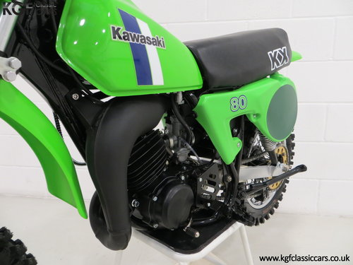 'The Junior Champions Choice' 1980 Kawasaki KX80-B2 SOLD (picture 6 of 6)