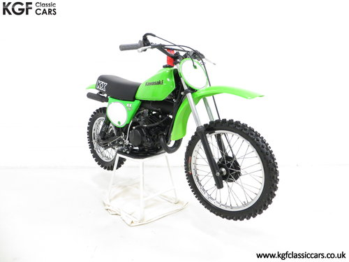 A Desirable First Edition 1979 Kawasaki KX80-A1 SOLD (picture 1 of 6)